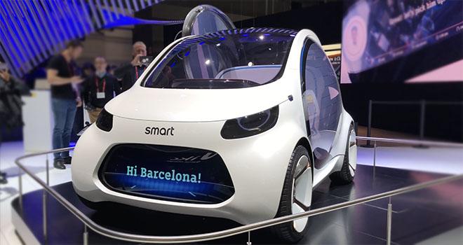 Concept Car Smart EQA