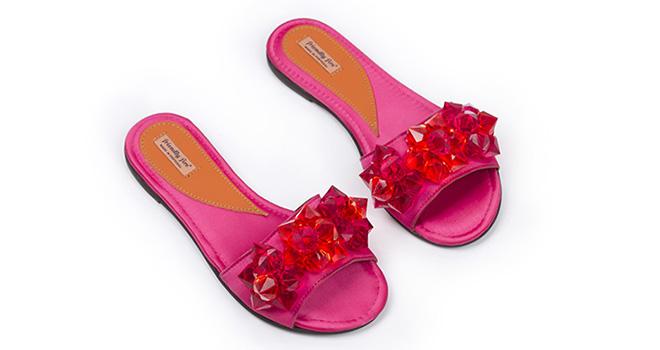 Frida Red Stones - 185 euros