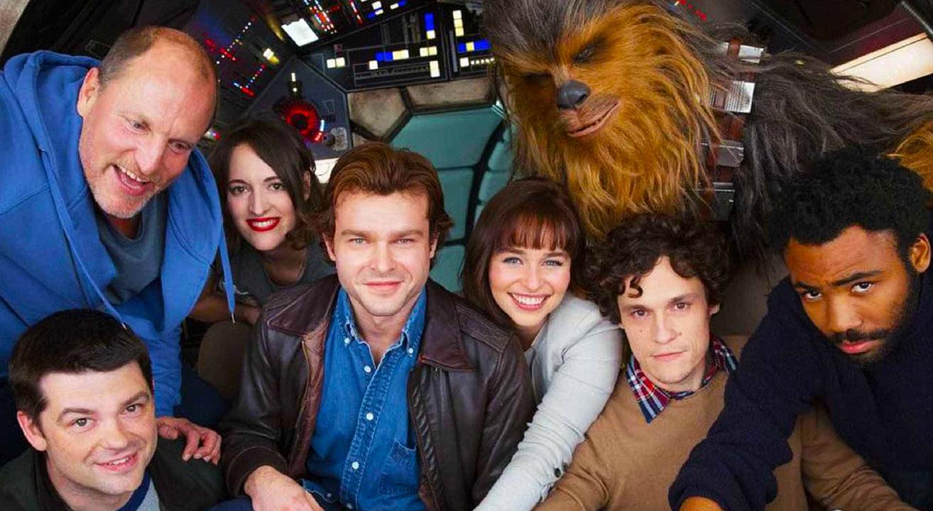 Star Wars Han Solo Cartazes