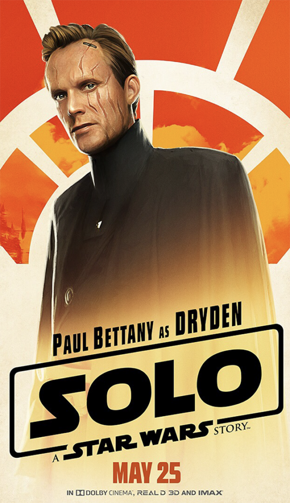 Star Wars Solo Dryden Vos