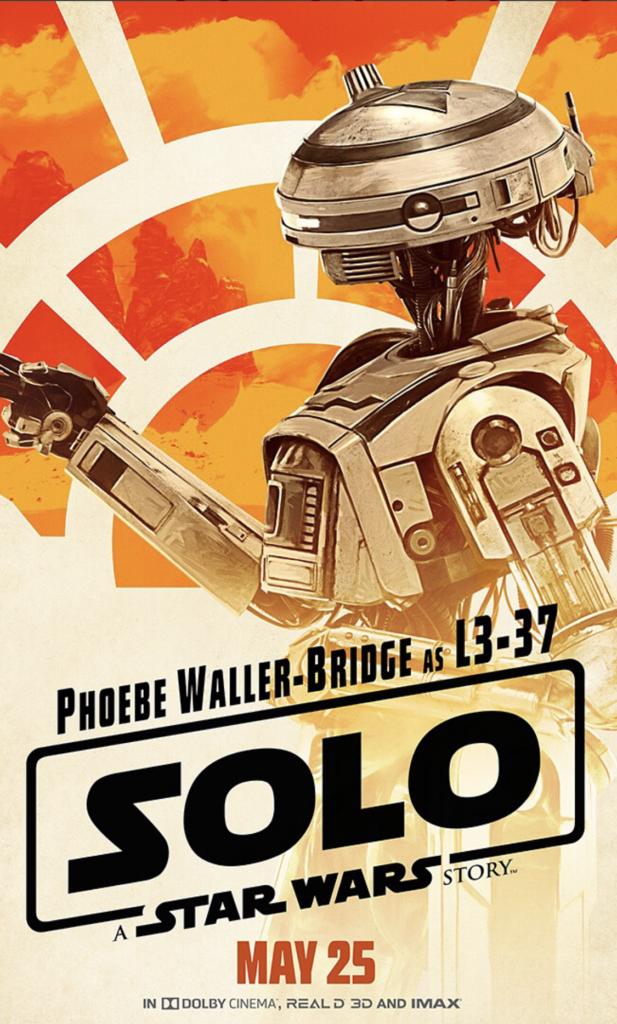 Star Wars Solo L3-37