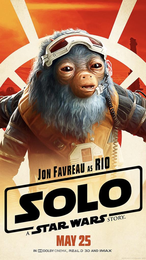 Star Wars Solo Rio Durant