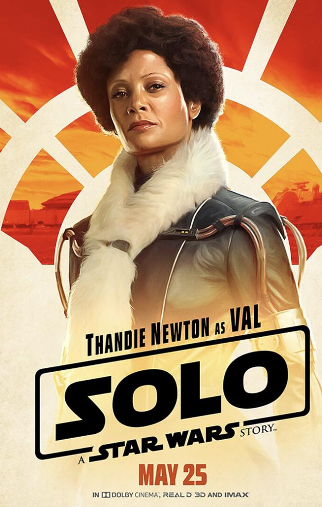 Star Wars Solo Thandie Newton