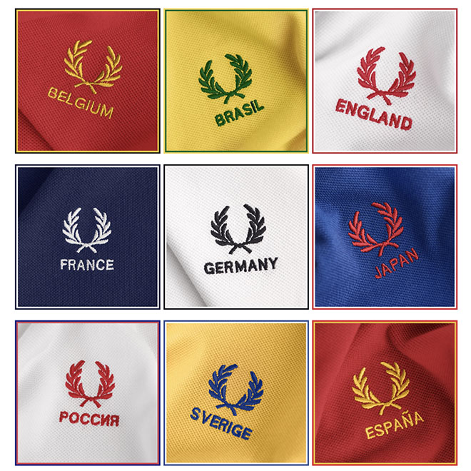 Fred Perry Mundial Rússia