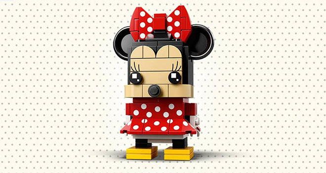 Brickheadz LEGO Minnie