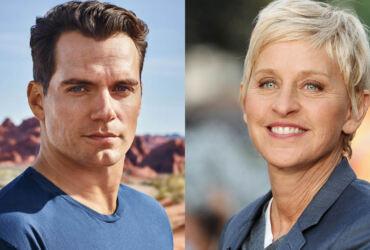 Henry Cavill Ellen DeGeneres Netflix
