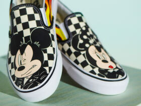 Mickey Vans Checkboard