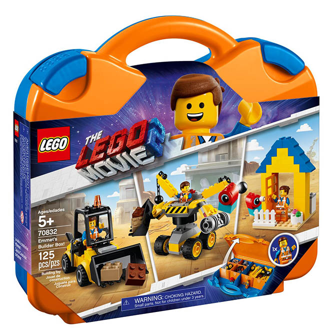 LEGO Mala Construtor Emmet