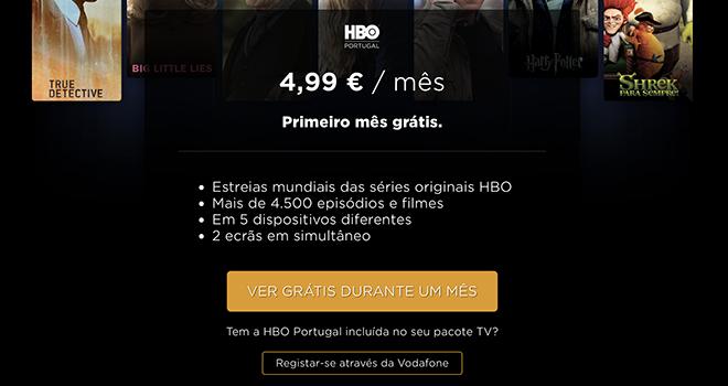 HBO Mensalidade