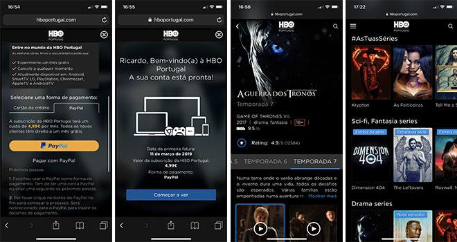 HBO Portugal Smartphone