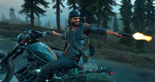 Days Gone PS4 Bike