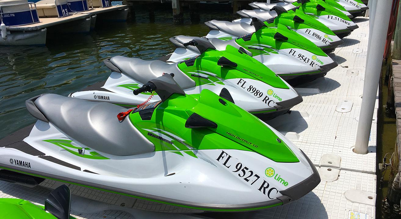 Jet Ski Lime