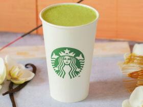 Starbucks Vanilla Matcha Latte