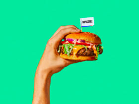 Impossible Whooper Burger