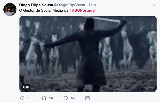 Twitter HBO Portugal