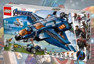 Passatempo LEGO Avengers Site