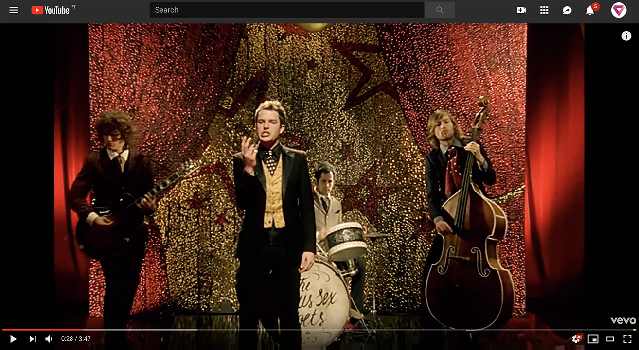YouTube Remastered -The Killers