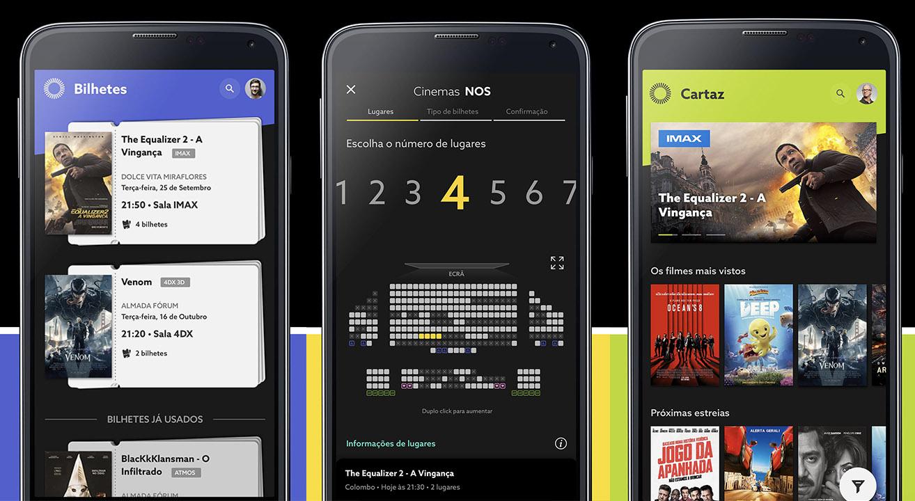 Cinema NOS App