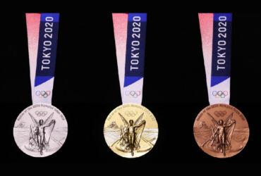 Medalhas Tóquio 2020 reciclagem