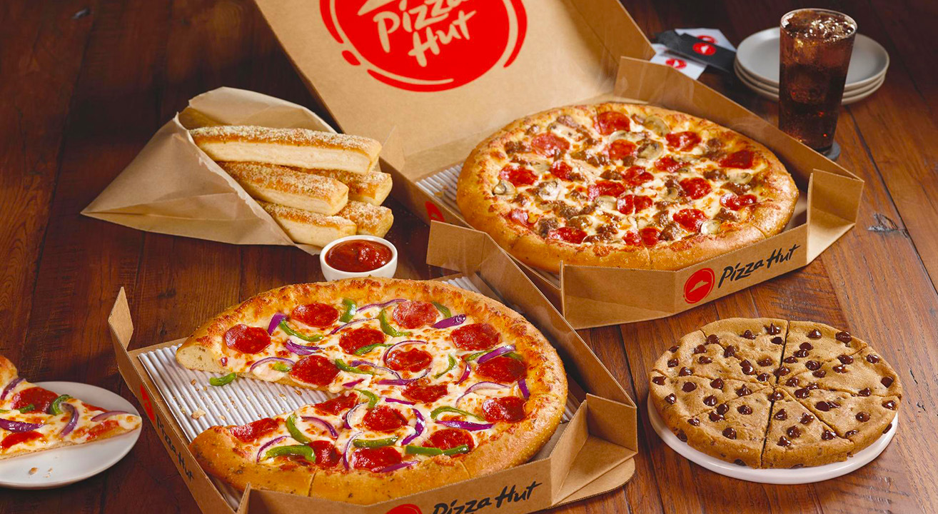 Pizza Hut Uber Eats