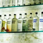 Vodka Absolut Bar