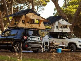 Hertz Campers Jeep