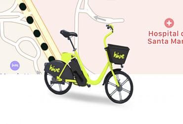 Hive Bicicletas App Lisboa