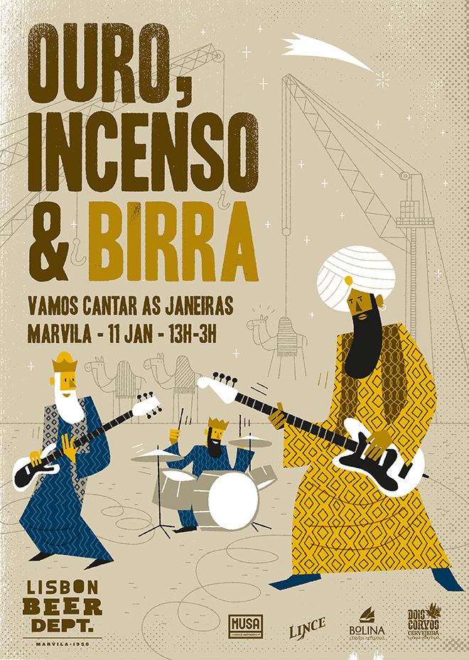 Ouro Incenso Birra Marvila 2020 ©DR