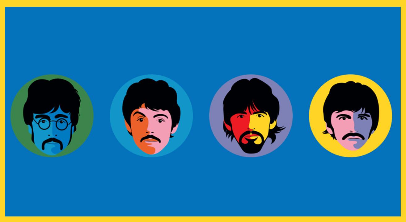 Beatles ©Happy Socks