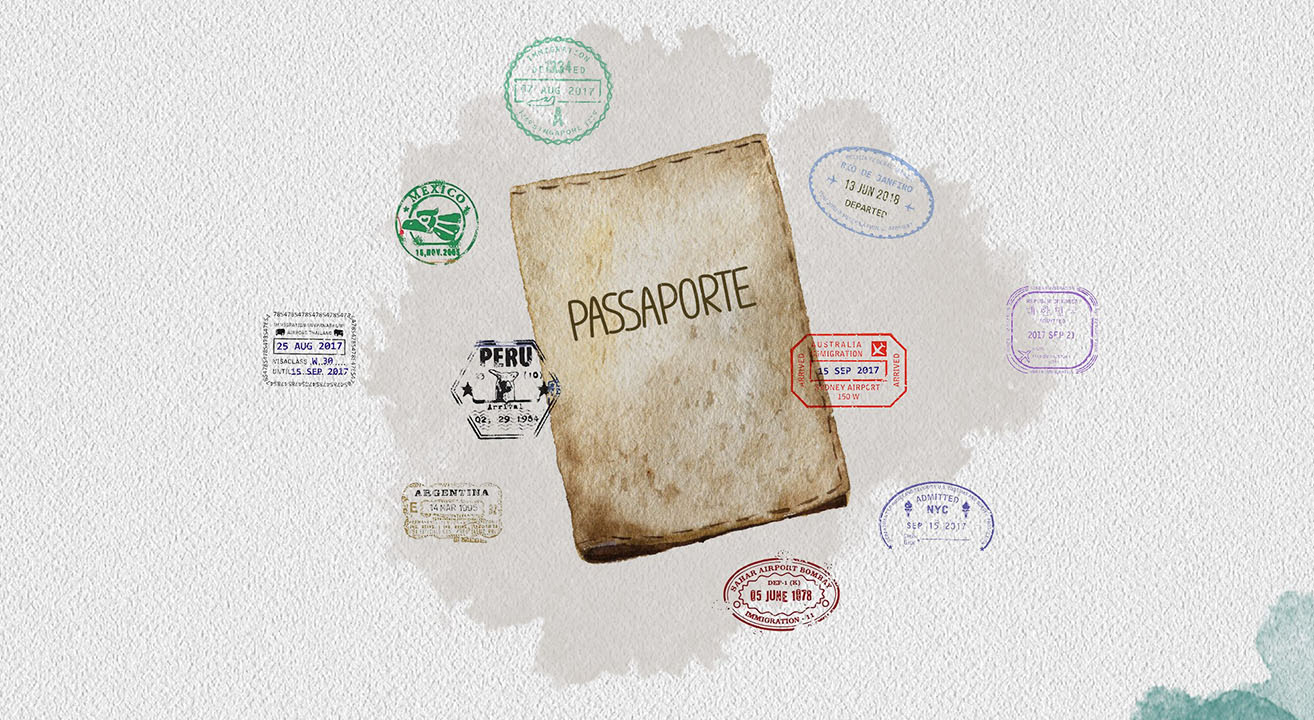 Passaporte Carimbos ©Geographia