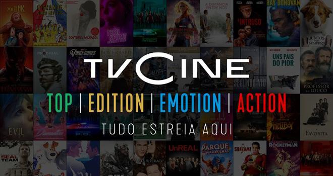 ©TVCine rebranding