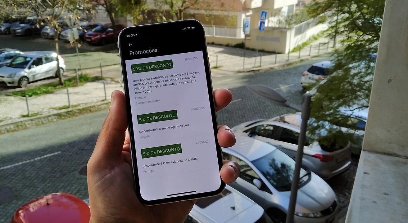 Uber 2020 Desconto
