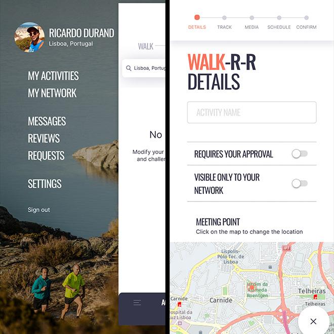 Walk Run Ride App ©W-R-R