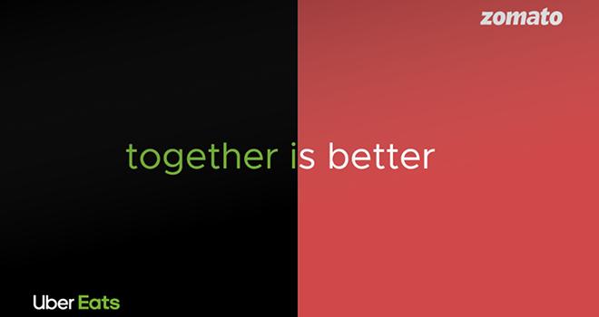 ©Zomato Uber Eats - Togheter is Better
