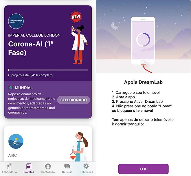 App DreamLab Vodafone