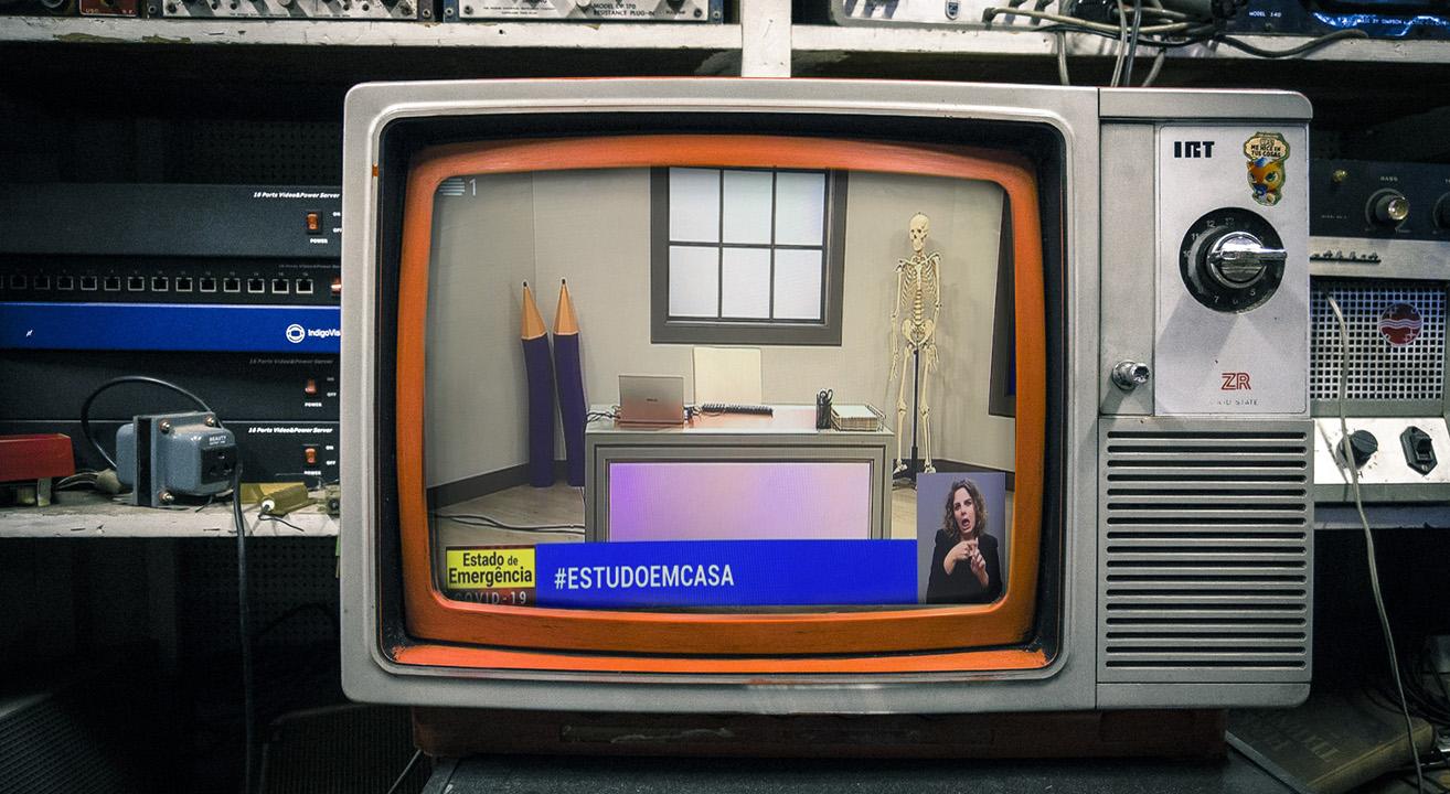 EstudoEmCasa - Telescola RTP 2020 ©Diego González