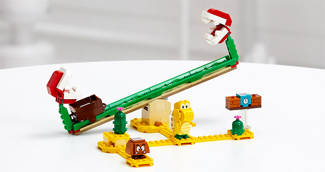 ©LEGO Super Mario - Piranha Slide 71365