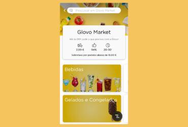 Glovo Market Lisboa ©DR
