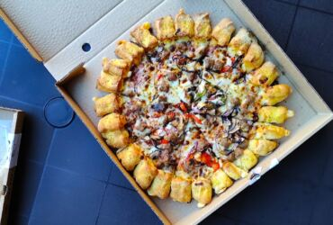 Pizza Hut Cheesy Bites ©Trendy