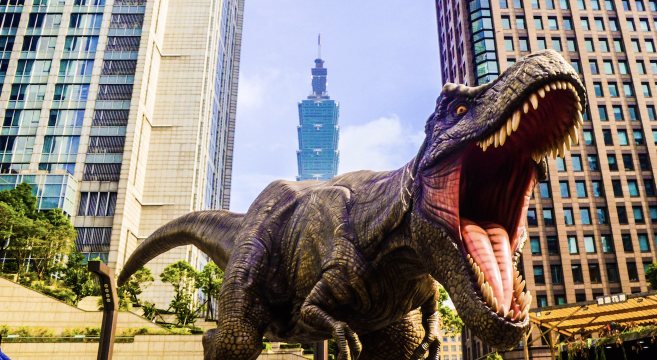 Dinossauros ©Huang Yingone