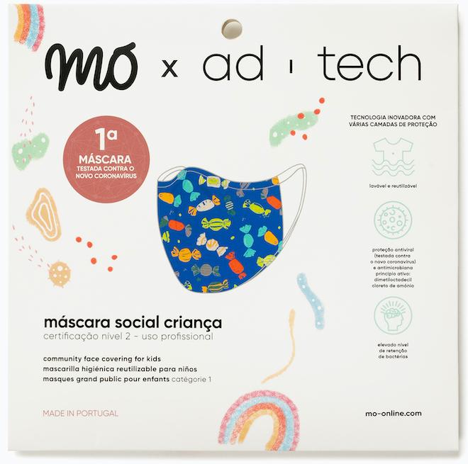 ©MO | As novas MOxAd-Tech para criança custam dez euros e vêm em três cores.