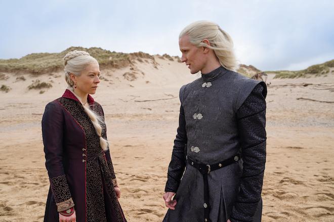 ©HBO | Rhaenyra e Daemon Targaryen